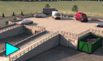 FP McCann Precast Modular Recycling center - Construction video